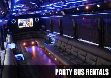 Airport Transportation Party Bus in Indianapolis