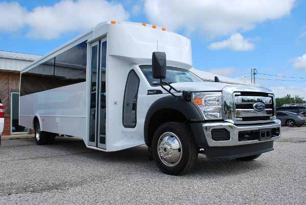22 Passenger party bus rental Greenfield