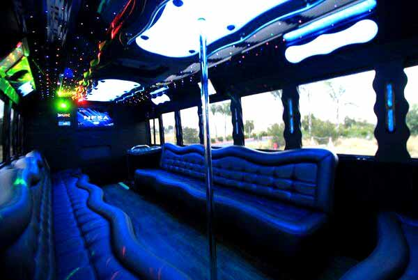 40 people party bus Evansville