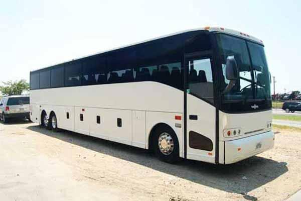 50 passenger charter bus Carmel