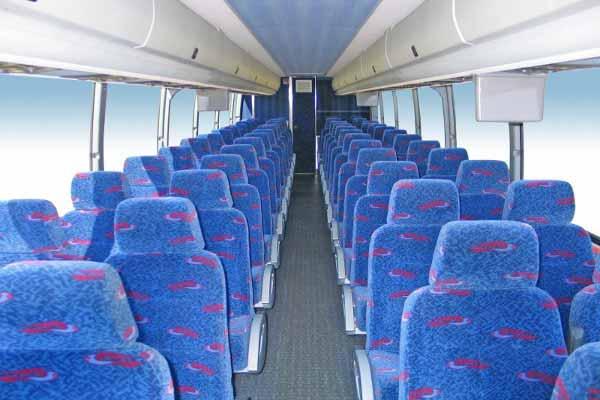 50 people charter bus Carmel