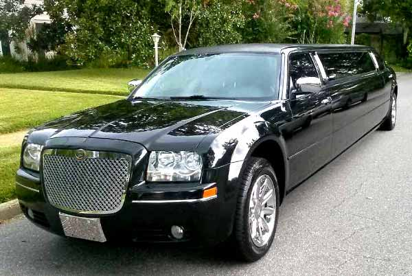 Chrysler 300 limo service Anderson