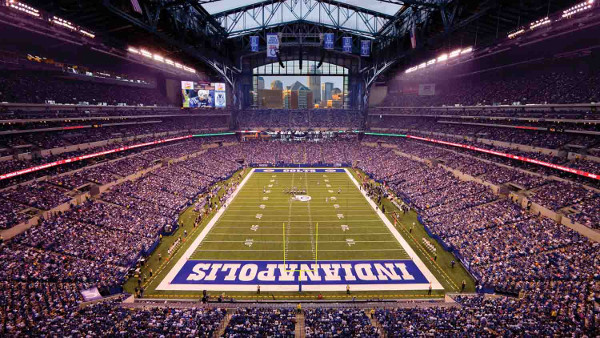 Lucas Oil Stadium Limos