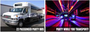 Wedding party bus rentals Indianapolis