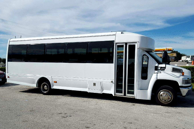 Indianapolis 36 Passenger Shuttle Bus Rental